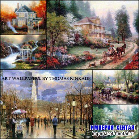 Искусство  Thomas Kinkade - 70 картин